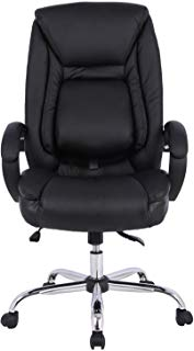 Bonded Leather Executive Office Swivel Chair