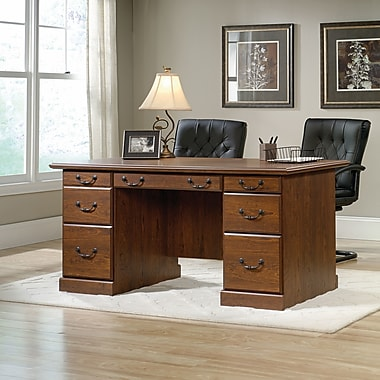 Sauder Orchard Hills Executive Computer Desk