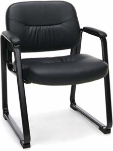 Executive Leather Waiting Chair